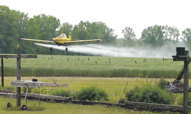 Don't call aerial crop specialists 'crop dusters'