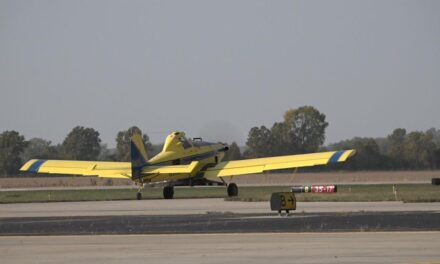 Crop dusting still plays important role