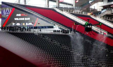 Atlanta Falcons to use drones to clean stadium after games