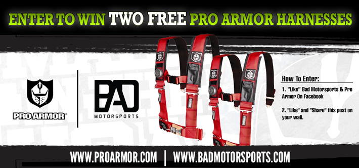 It's Giveaway Time! :: Pro Armor Harnesses