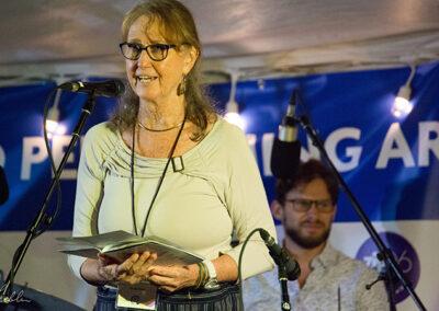 Festival Secretary Donita Aruny