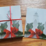 Christmas Lighthouse post cards pack of 50 (4x6) Photo by Amy Howard