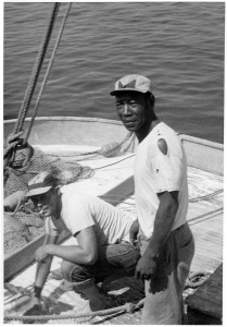 Julius Bryant, Muzel's brother was a fisherman on Ocracoke, photo Bill Cochran Collection