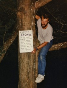 Howard Sign, Marty in Tree
