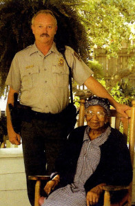 Kenny Ballance & Muzel Bryant in 2004, Kenny was Park Ranger and Muzel had moved in with him during her last years.