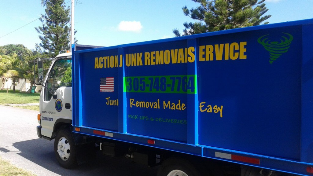 Miami Trash Removal - Action Junk Removal