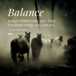 Building a Balanced Horse