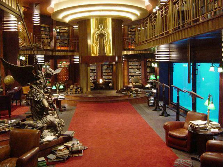 B.P.R.D. library from Hellboy