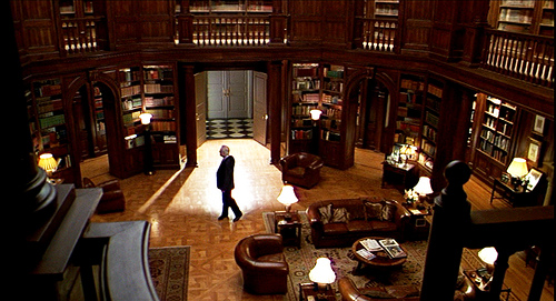 library from Meet Joe Black