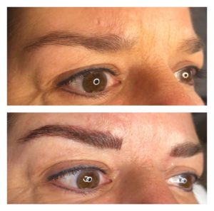 picture of micro blading before and after