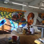 Henry Ford Academy Students Mural