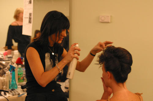 Design Collective NY - Backstage - Redken Hudson Hotel NYC