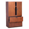 2 Drawer Lateral File with Stack-on Cabinet-1