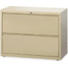 Lorell 36 2 Drawer Lateral-1