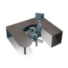 Timeless Small Space U Shape Workstation Package-1