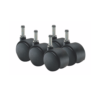 Casters set of 5