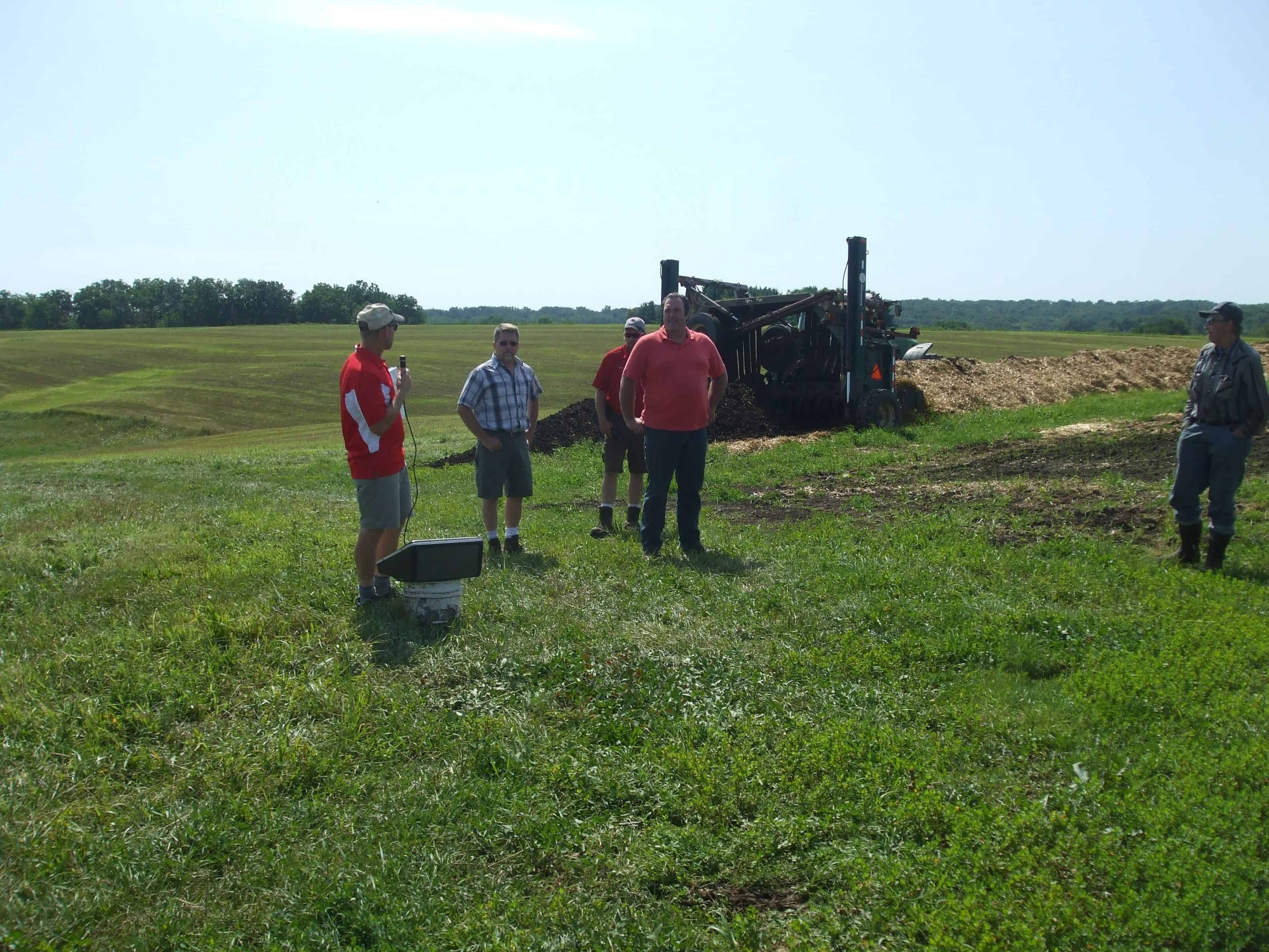 Truttmann Family introductions at Summer Field Day