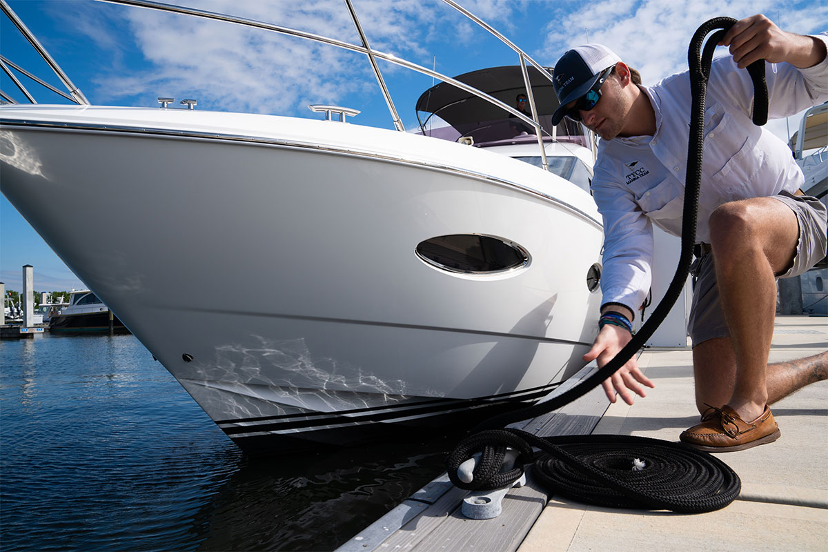 Luxury Boat Maintenance - Dock Hand