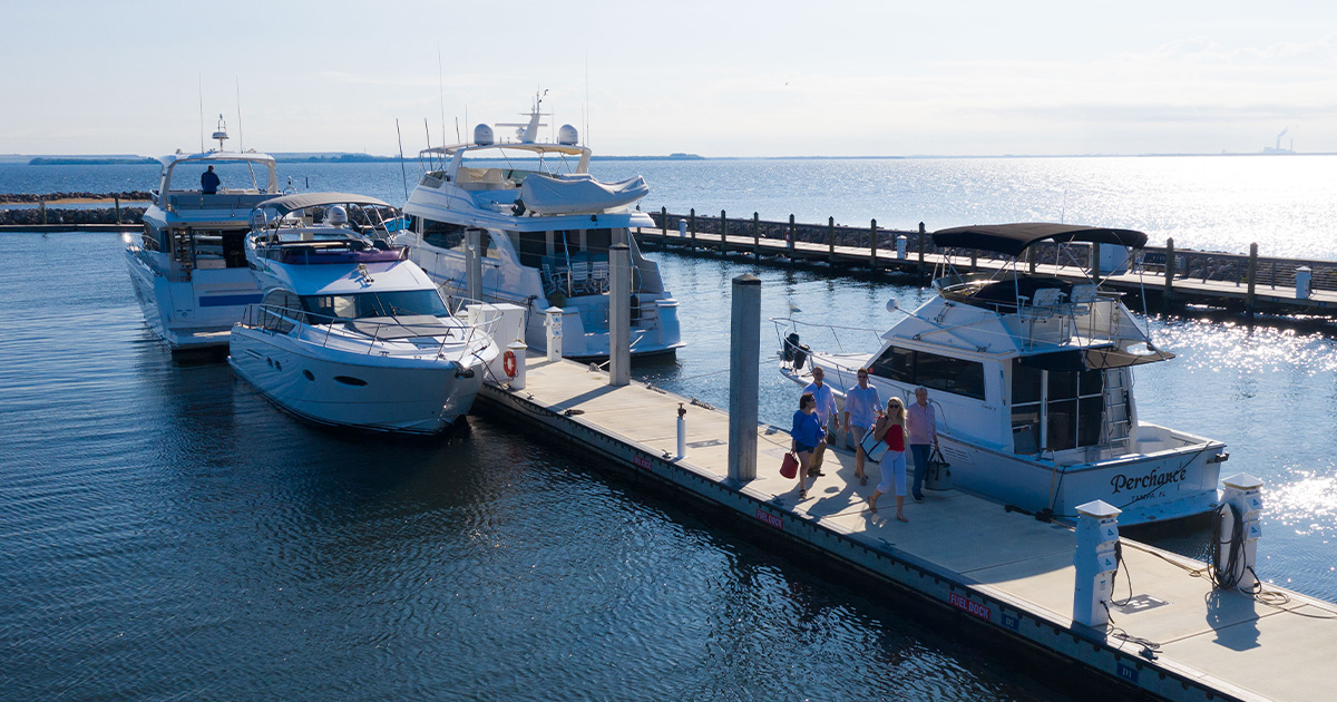 Buying a yacht – Marina Docks
