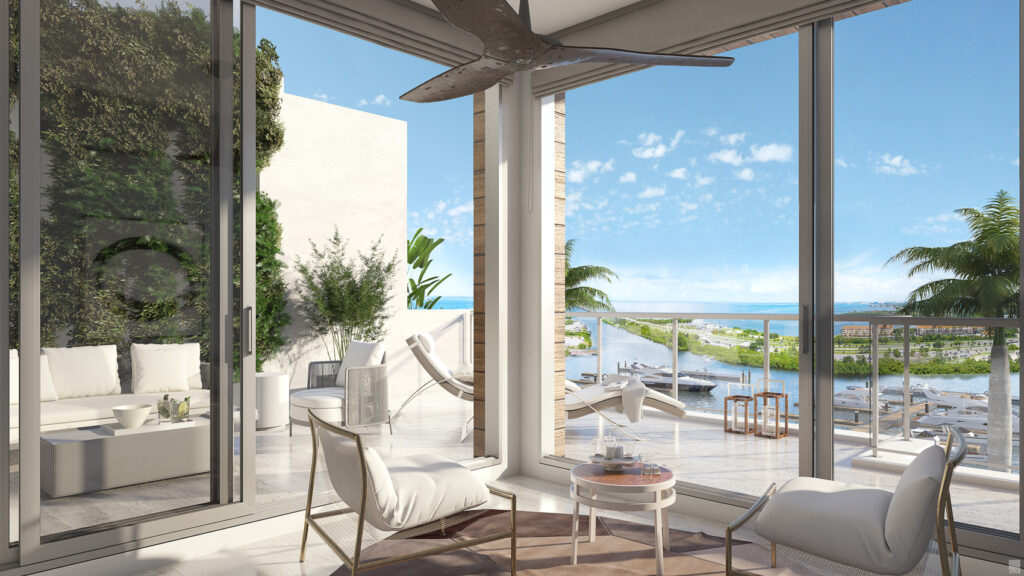 New heights of contemporary waterfront living in Marina Pointe townhomes