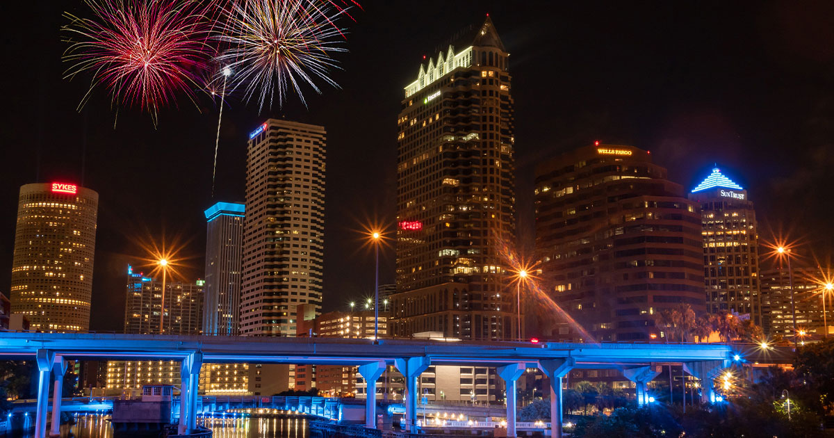 Tampa Boom - Independence Day Tampa