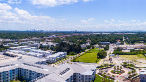 Overlook South Tampa and the Westshore Marina District from the Aspire residence