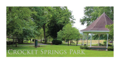 Crocket Springs Park Rogersville TN Main Street