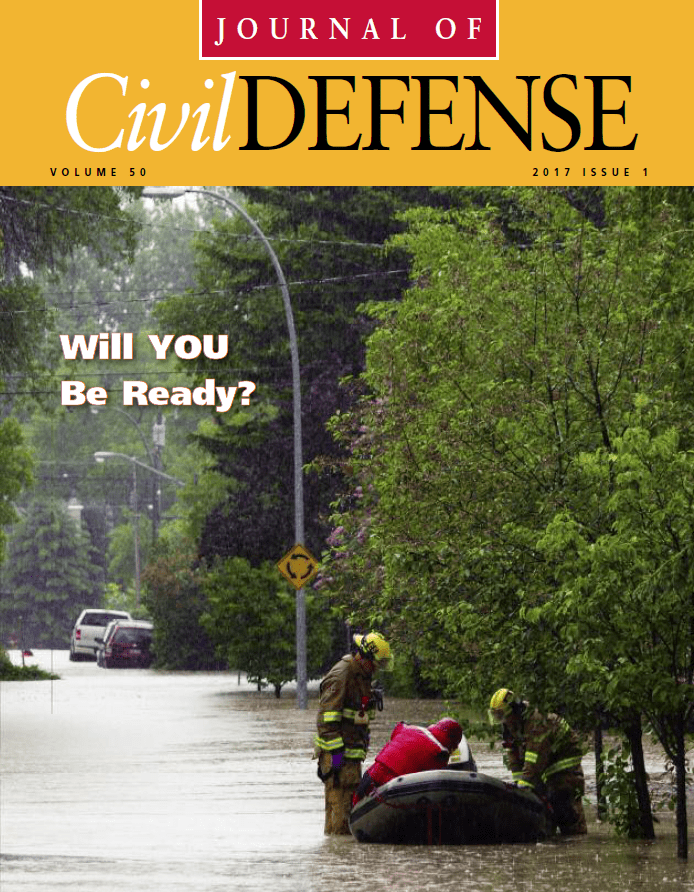 Journal of Civil Defense, Volume 50 Issue 1, Cover