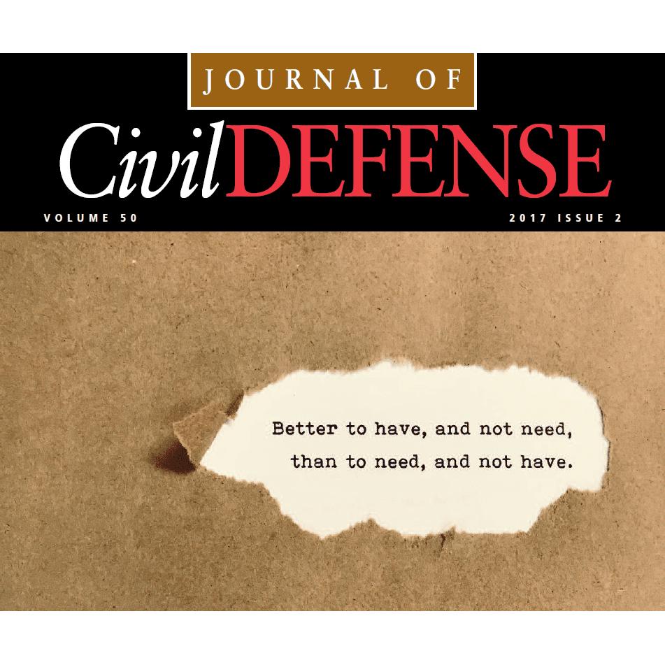TACDA Journal cover