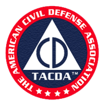 The American Civil Defense Association Logo, TACDA Logo
