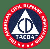 The American Civil Defense Association Logo, TACDA Logo