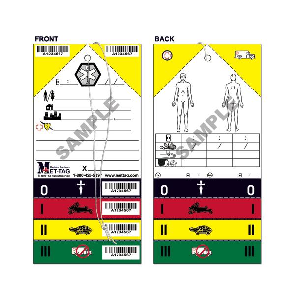 MT-137 Emergency Triage Tag