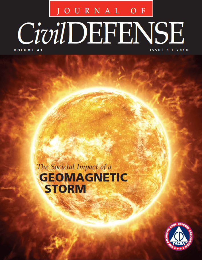 Journal of Civil Defense, 2010 Volume 43 Issue 1, Cover