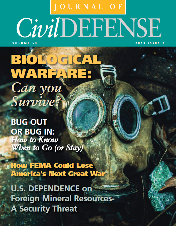 October 2019 Issue 2 Biological Warfare. Can you survive