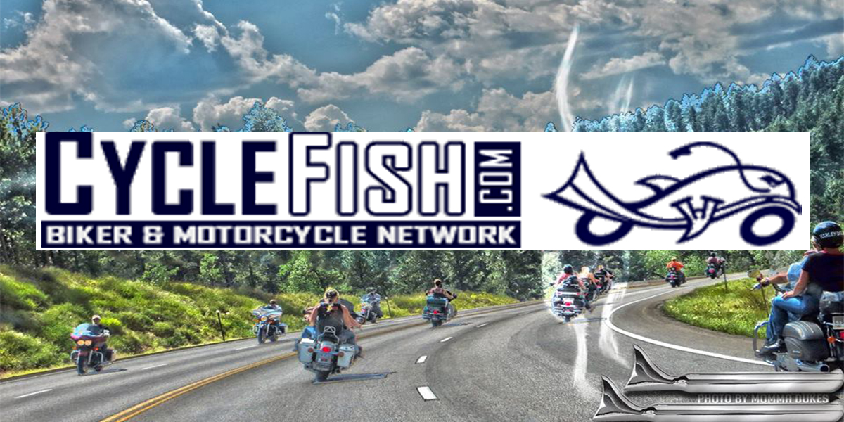 Cycle Fish Motorcycle Events - text over image