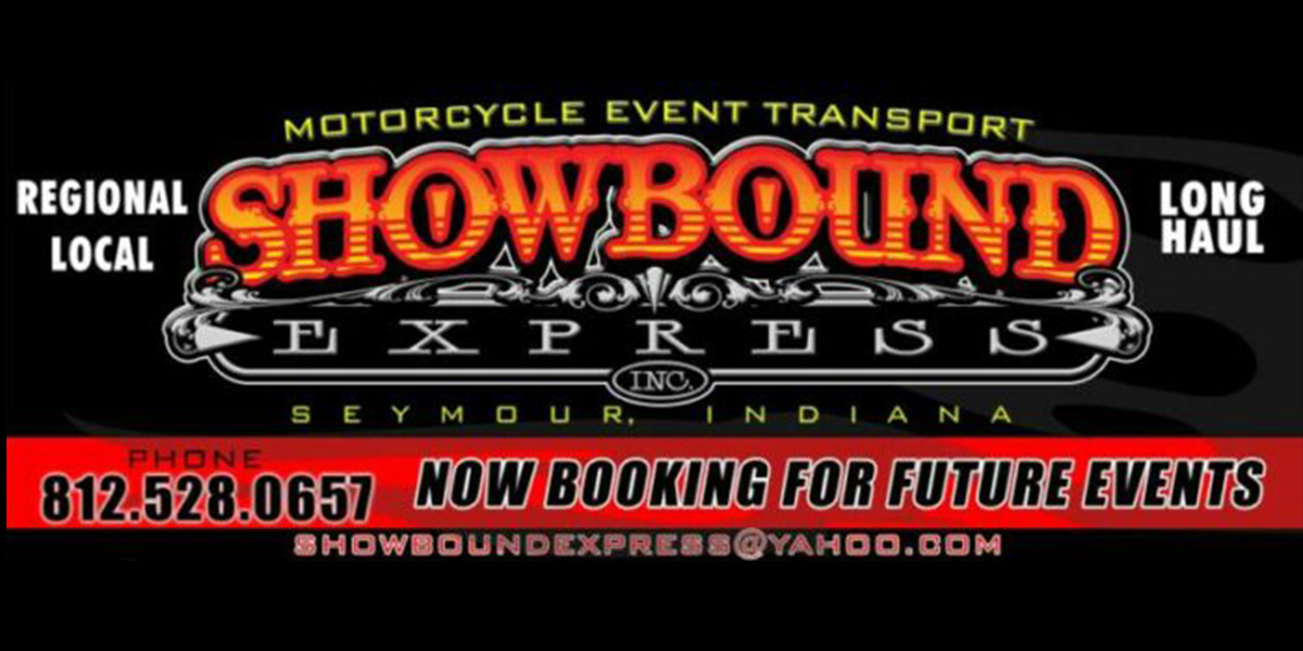 Show Bound Express events advertisement