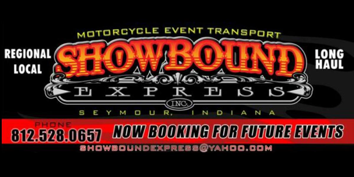Show Bound Express events advertisement