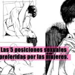 Las 5 posiciones sexuales preferidas por las mujeres