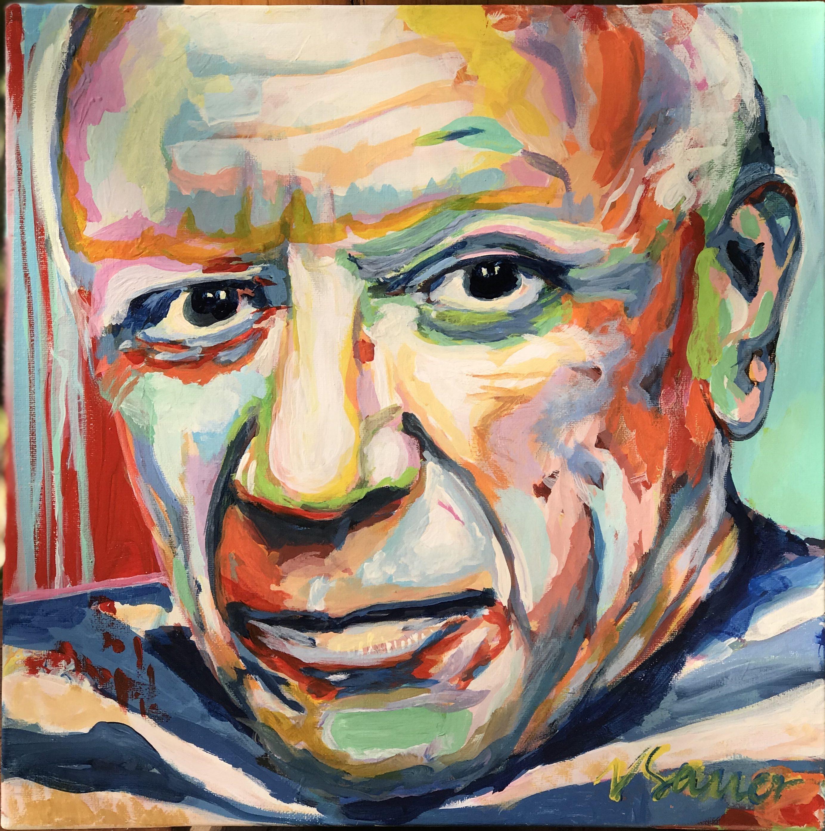 """Pablo Picasso 16""""x 16"""""""