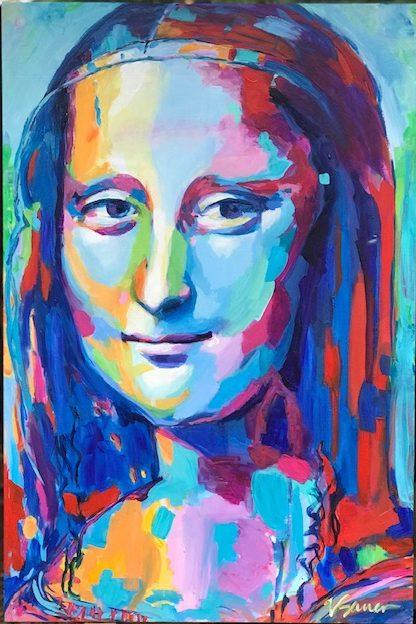 """Mona Lisa 24""""x 36"""""""