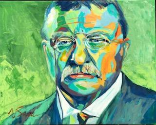 "Teddy Roosevelt 24"" x 30"""