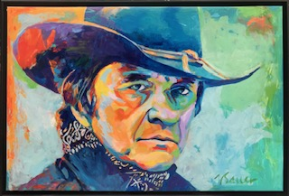 "Johnny Cash 24"" x 36"""