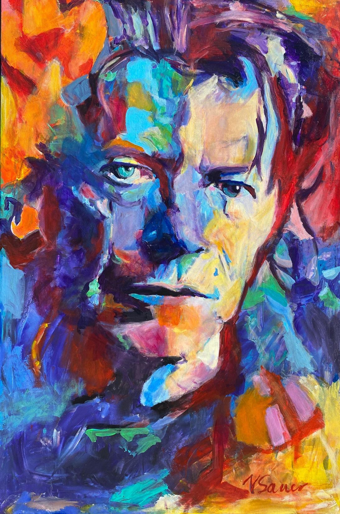 """David Bowie 24""""x36"""""""