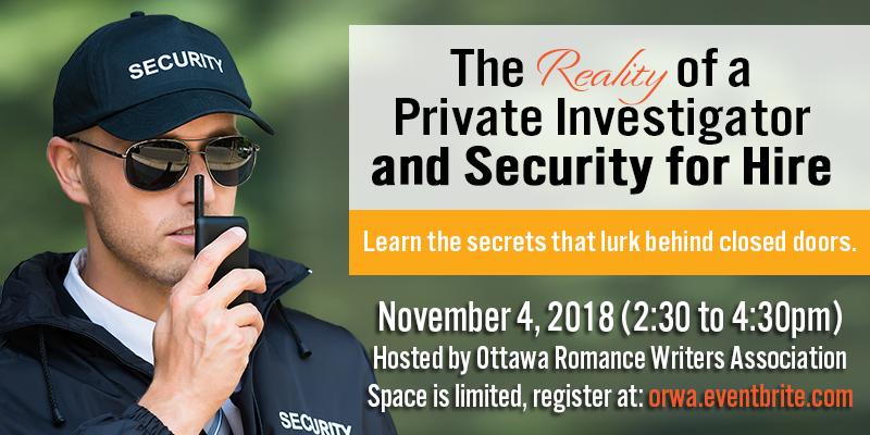 Recap Nov 2018: Private Investigator and Security Guard
