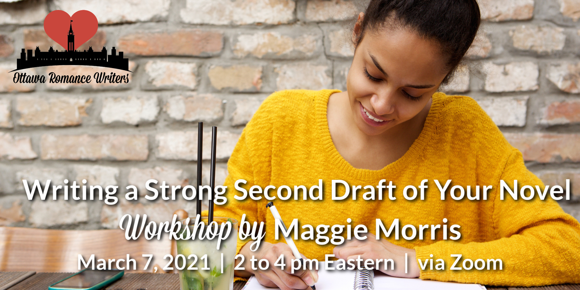 March 7, 2021 Workshop – Writing a Strong Second Draft of Your Novel