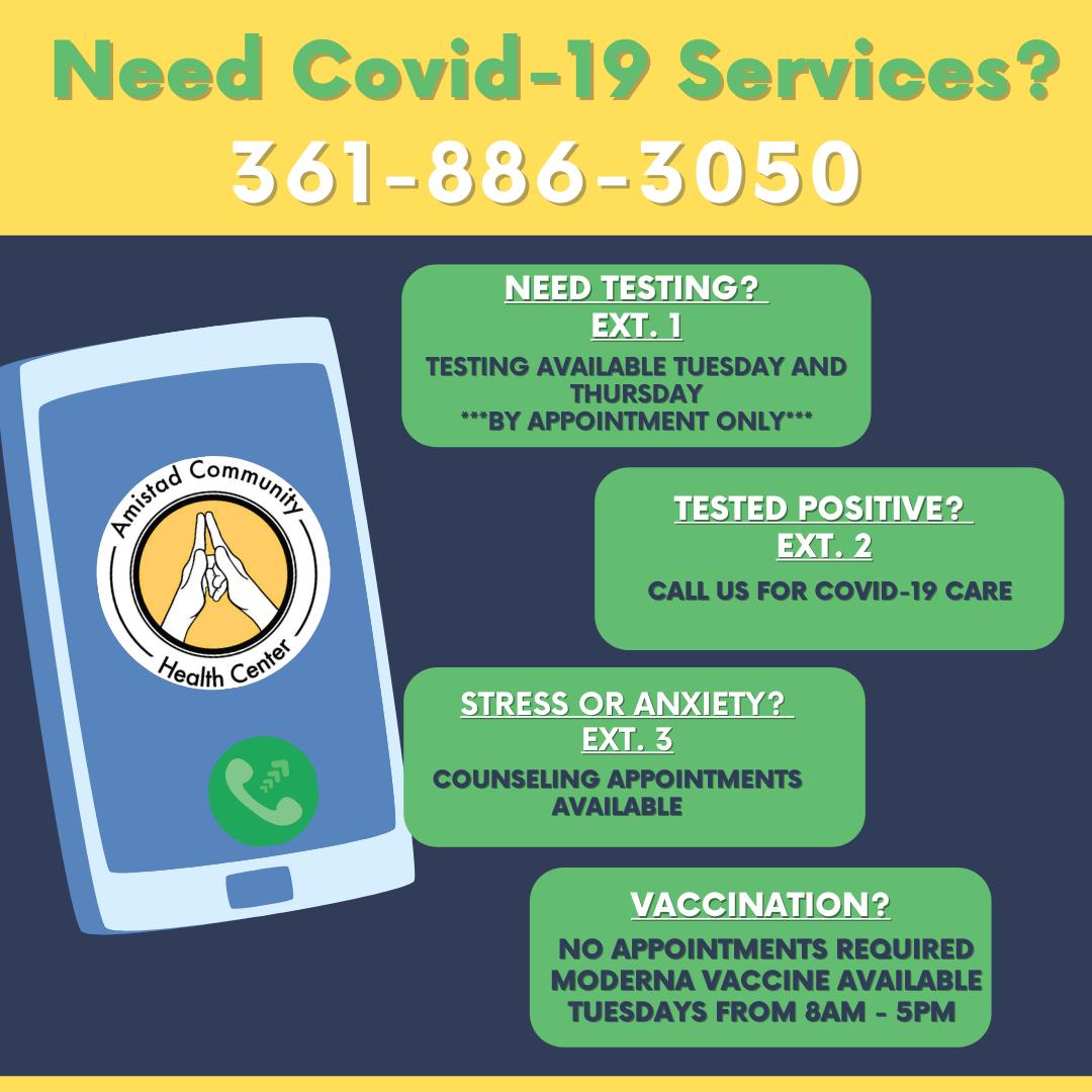 Copy of new covid services