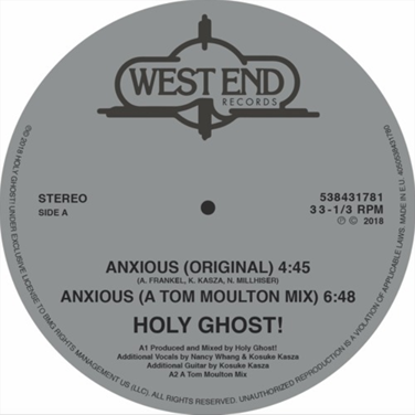 music roundup Holy Ghost!
