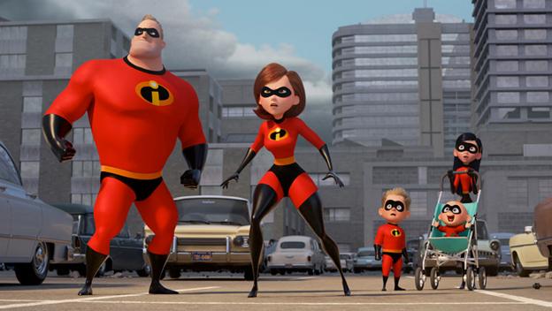 Top Films Incredibles