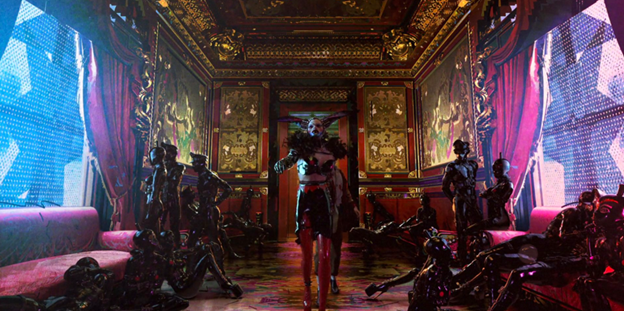 Love, Death & Robots room