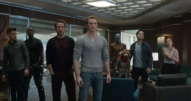 Avengers: Endgame group